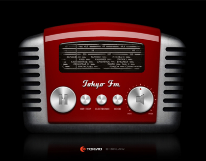 TokyoFm on-line radio