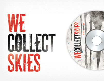 DVD giftbox for We Collect Skies