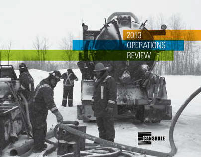 CanShale Operations Report 2013 - CONCEPT