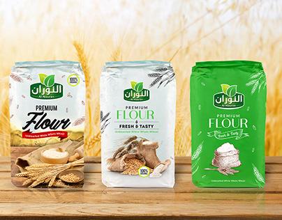 Premium Flour Packaging Design