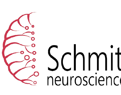 Schmitt neurosciences brand identity design