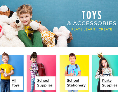 Flipkart's Toys & Accessories Page