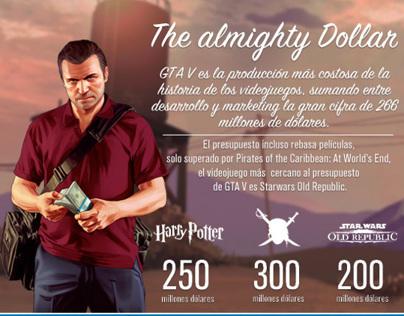 Grand Theft Auto V Infographic