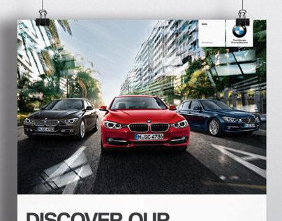 'Stratstone BMW' Print