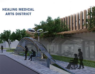 Urban Design - Savannah medical district