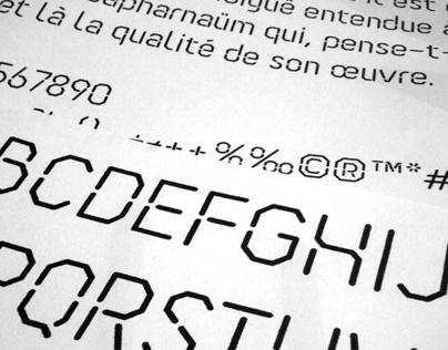 Ossature Font