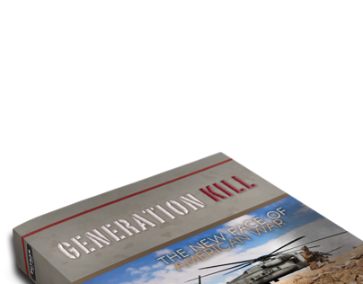 Generation Kill book Cover Redesign