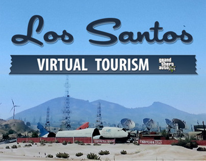Virtual Tourism in Los Santos (GTA 5 - GTA V)