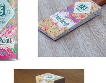 Artist Series packaging design