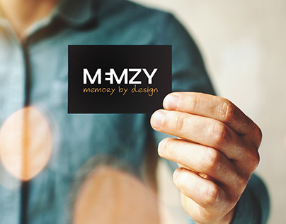 Memzy | Logo + Visual Web Site