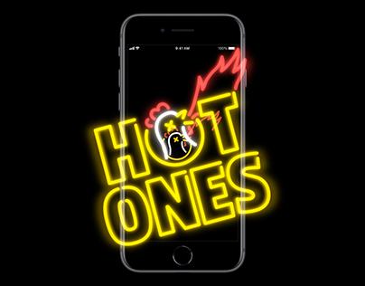 HOT ONES App Concept