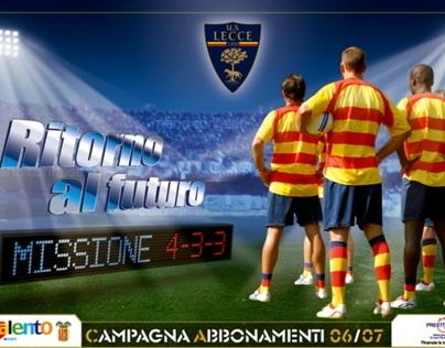 Campagne Abbonamenti U.S. Lecce / Season Tickets adv