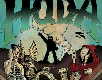 HoDA poster art
