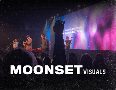 Moonset Visuals - premium visuals for churches and vj's