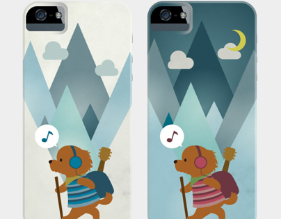 iPhone5 case border dogs