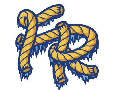 Frozen Rope logo design