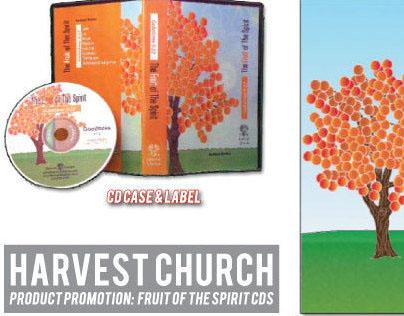 Harvest Church Fruit of the Spirit CD Series