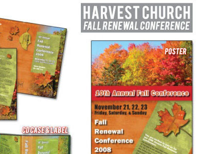 Harvest Church Fall Renewal Conference Campaign