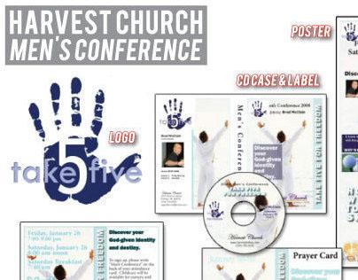 Harvest Church Men's Conference Campaign