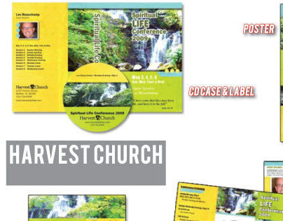 Harvest Church Spiritual Life Conference Campaign