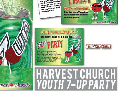 Harvest Church Youth Group 7-UP Party