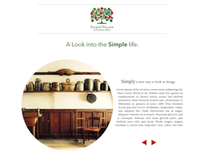 Shaker Village Web Designs