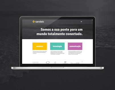 Sandals Website