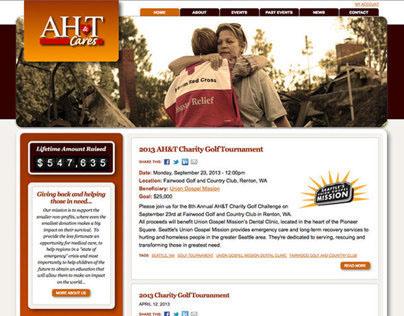 AHTCares.com - Web (2013)