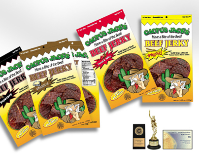 Cactus Jack's Branding/Package Design