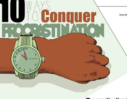 Procrastination illustration