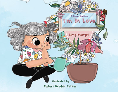 "Illustration for children's book ""I Am Me"" series"