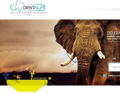 Dentalp Ağız ve Diş Sağlığı Polikinilği Web Tasarımı