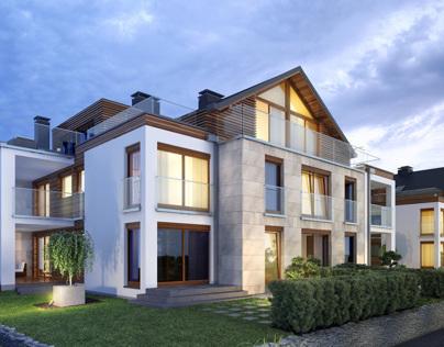 Hortus apartments - visualizations