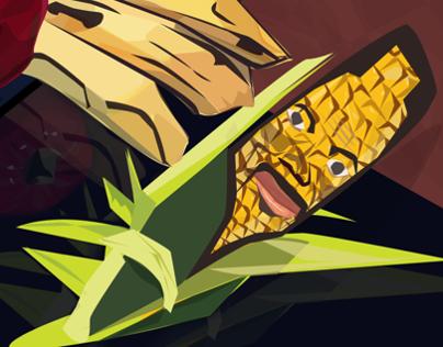 Now getting corny.