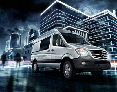 2014-15 Mercedes-Benz Sprinter Campaign