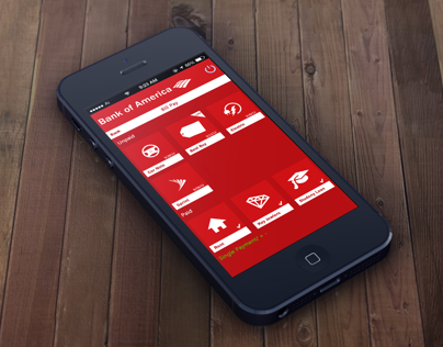 Bank of America App Redesign Concept