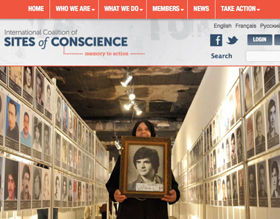 Sites of Conscience Website