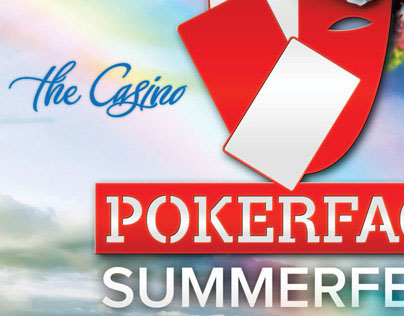 Pokerface Summerfest - poster / flyer