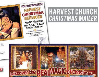 Harvest Church Christmas Mailer