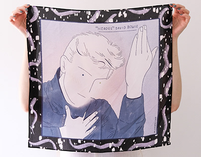 Bowie Silk Scarves 2020