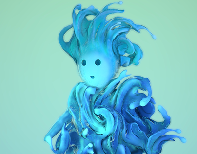 Water Elemental (Character Turntable)