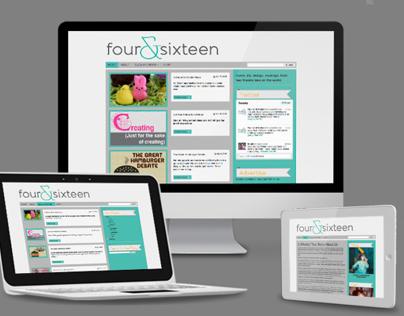 Four & Sixteen Website Design