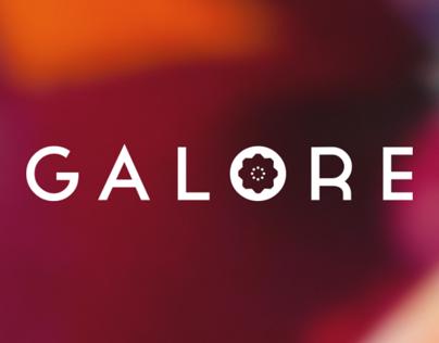 Galore Flowers - Branding + Website