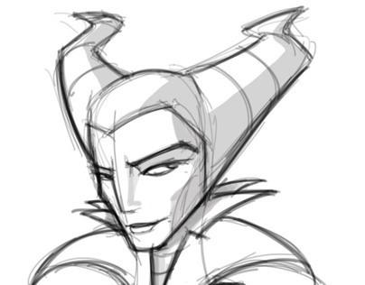 Malificent sketch