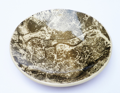 Screen Printed Ceramics: Bristol Bowls