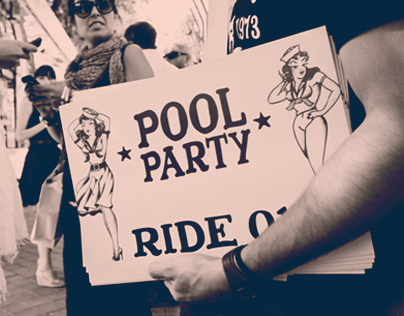 """VICE_Sailor Jerrry presents """"The Pool Party"""""""