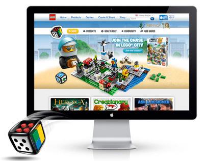 LEGO® Games Website 2012