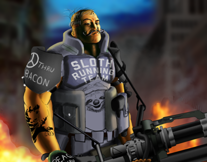 The Aging Post-Apocalyptic Hipster Mercenary