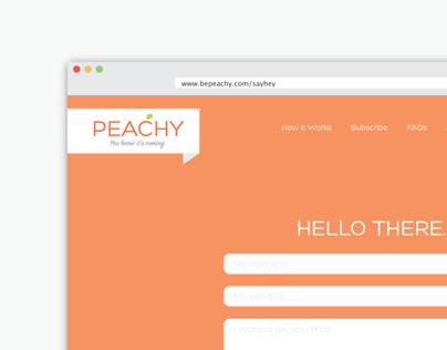 Peachy Website