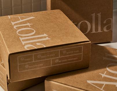 Atolla Skincare Rebrand